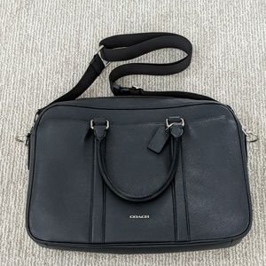100% Authentic Coach Slim Briefcase